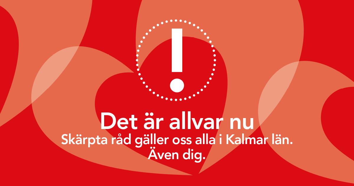 Skärpta bestämmelser i Kalmar Län och Torsås kommun