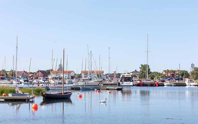 Mätning av båtbottnar på Valborg