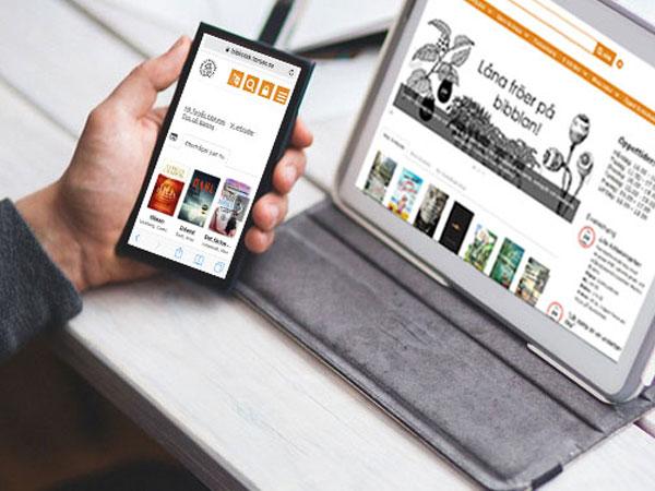 Låna e-böcker