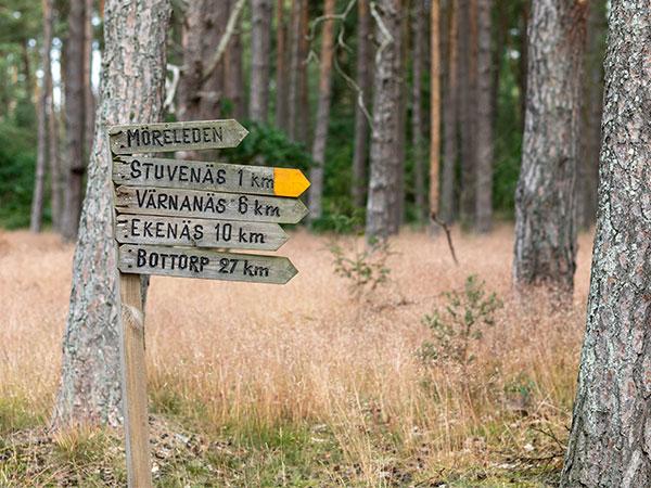 Cykel- och vandringsleder